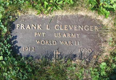 CLEVENGER, FRANK L. - Union County, Ohio   FRANK L. CLEVENGER - Ohio Gravestone Photos