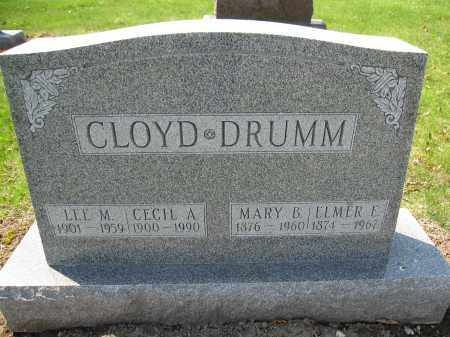 CLOYD, LEE M. - Union County, Ohio | LEE M. CLOYD - Ohio Gravestone Photos