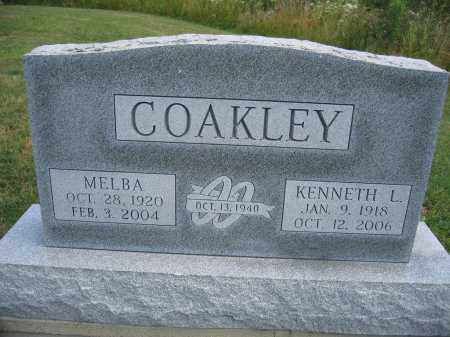 COAKLEY, KENNETH L. - Union County, Ohio | KENNETH L. COAKLEY - Ohio Gravestone Photos