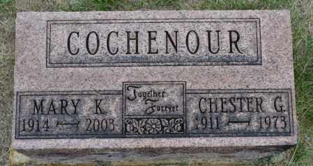 COCHENOUR, MARY K. - Union County, Ohio   MARY K. COCHENOUR - Ohio Gravestone Photos