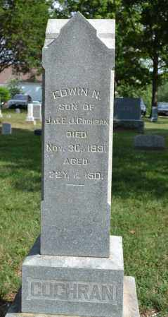 COCHRAN, EDWIN N. - Union County, Ohio   EDWIN N. COCHRAN - Ohio Gravestone Photos