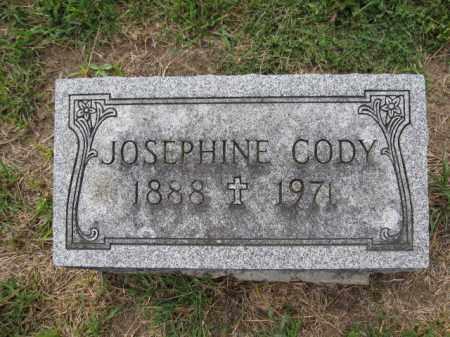 CODY, JOSEPHINE - Union County, Ohio   JOSEPHINE CODY - Ohio Gravestone Photos