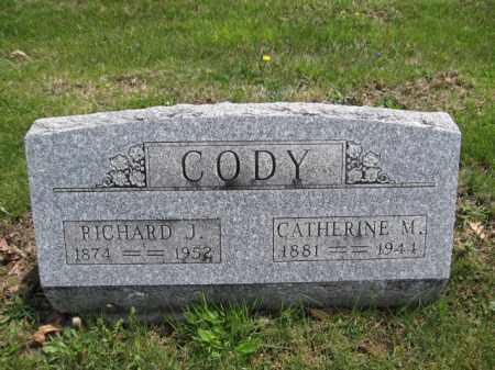 CODY, CATHERINE M. BREAKBAUNE - Union County, Ohio   CATHERINE M. BREAKBAUNE CODY - Ohio Gravestone Photos