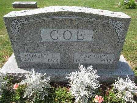 COE, MARJORIE - Union County, Ohio   MARJORIE COE - Ohio Gravestone Photos