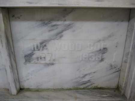 COE, IDA WOOD - Union County, Ohio | IDA WOOD COE - Ohio Gravestone Photos
