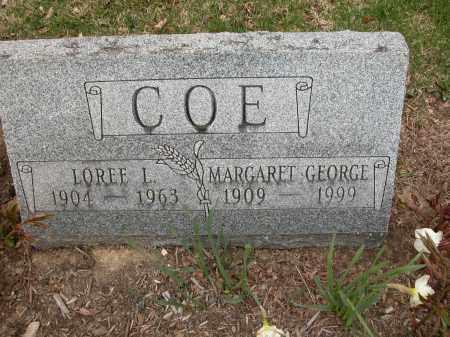 COE, MARGARET GEORGE - Union County, Ohio   MARGARET GEORGE COE - Ohio Gravestone Photos