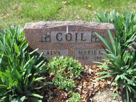COIL, J. ALVA - Union County, Ohio | J. ALVA COIL - Ohio Gravestone Photos