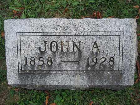 COLEMAN, JOHN A. - Union County, Ohio   JOHN A. COLEMAN - Ohio Gravestone Photos