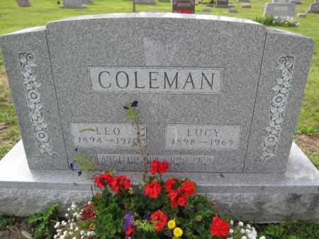 COLEMAN, LOE - Union County, Ohio | LOE COLEMAN - Ohio Gravestone Photos