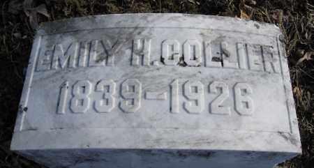 COLLIER, EMILY H. - Union County, Ohio | EMILY H. COLLIER - Ohio Gravestone Photos