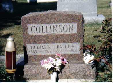 TALLMAN COLLINSON, HATTIE A. - Union County, Ohio | HATTIE A. TALLMAN COLLINSON - Ohio Gravestone Photos
