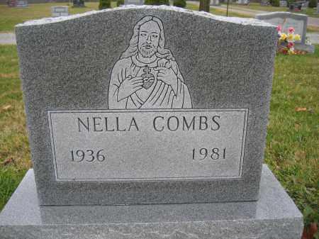 COMBS, NELLA - Union County, Ohio | NELLA COMBS - Ohio Gravestone Photos