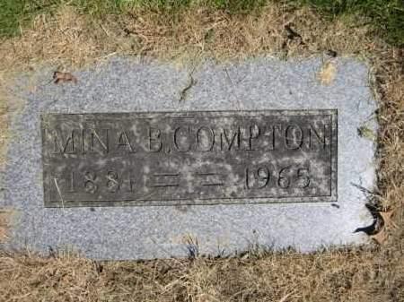 COMPTON, MINA B. - Union County, Ohio | MINA B. COMPTON - Ohio Gravestone Photos