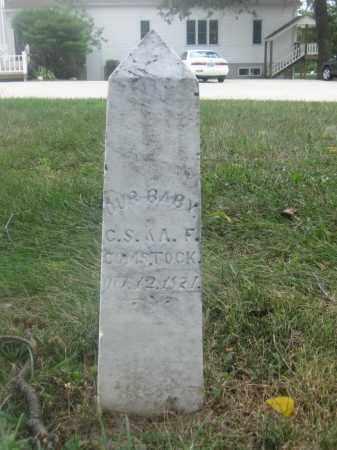 COMSTOCK, INFANT - Union County, Ohio | INFANT COMSTOCK - Ohio Gravestone Photos
