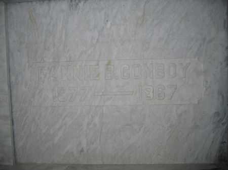 CONBOY, FANNIE B. - Union County, Ohio   FANNIE B. CONBOY - Ohio Gravestone Photos