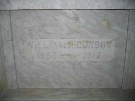 CONBOY, WILLIAM H. - Union County, Ohio | WILLIAM H. CONBOY - Ohio Gravestone Photos