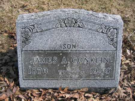 CONKLIN, JAMES A. - Union County, Ohio | JAMES A. CONKLIN - Ohio Gravestone Photos