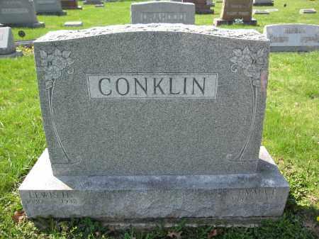 CONKLIN, LEWIS H. - Union County, Ohio   LEWIS H. CONKLIN - Ohio Gravestone Photos