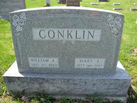 CONKLIN, WILLIAM A. - Union County, Ohio   WILLIAM A. CONKLIN - Ohio Gravestone Photos