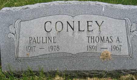 CONLEY, PAULINE - Union County, Ohio | PAULINE CONLEY - Ohio Gravestone Photos