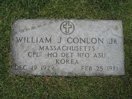 CONLON, JR., WILLIAM J. - Union County, Ohio | WILLIAM J. CONLON, JR. - Ohio Gravestone Photos