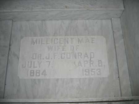 CONRAD, MILLICENT MAE - Union County, Ohio | MILLICENT MAE CONRAD - Ohio Gravestone Photos