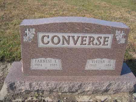 CONVERSE, VIVIAN H. - Union County, Ohio | VIVIAN H. CONVERSE - Ohio Gravestone Photos