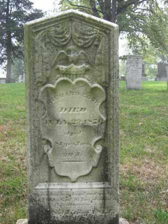 COOK, RICHARD - Union County, Ohio | RICHARD COOK - Ohio Gravestone Photos