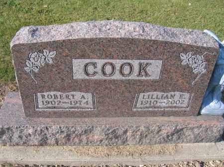 COOK, ROBERT A. - Union County, Ohio | ROBERT A. COOK - Ohio Gravestone Photos