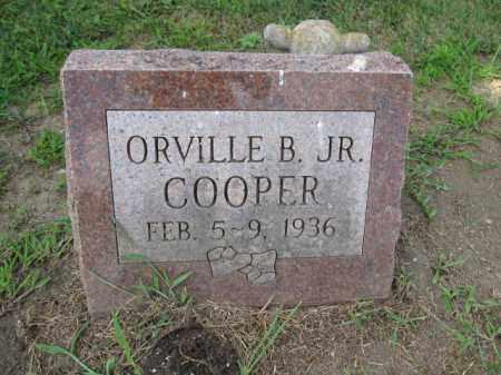 COOPER, ORVILLE B. - Union County, Ohio | ORVILLE B. COOPER - Ohio Gravestone Photos