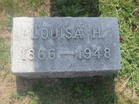 COOPERIDER, LOUISA H. - Union County, Ohio | LOUISA H. COOPERIDER - Ohio Gravestone Photos
