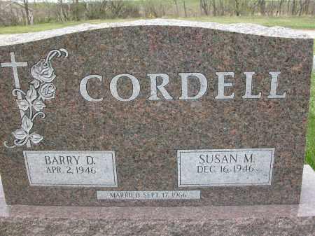CORDELL, BARRY D. - Union County, Ohio | BARRY D. CORDELL - Ohio Gravestone Photos