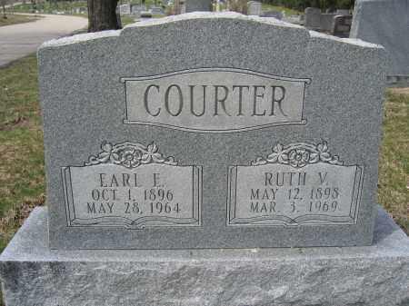 COURTER, RUTH V. - Union County, Ohio | RUTH V. COURTER - Ohio Gravestone Photos