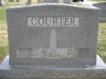 COURTER, HETTIE C. - Union County, Ohio | HETTIE C. COURTER - Ohio Gravestone Photos