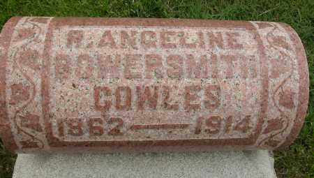 COWLES, R. ANGELINE - Union County, Ohio | R. ANGELINE COWLES - Ohio Gravestone Photos