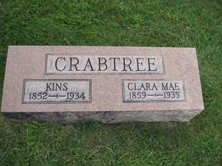 CRABTREE, CLARA MAE CHANDLER - Union County, Ohio | CLARA MAE CHANDLER CRABTREE - Ohio Gravestone Photos