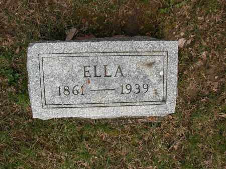 CRADLER, ELLA - Union County, Ohio | ELLA CRADLER - Ohio Gravestone Photos