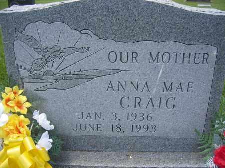 CRAIG, ANNA MAE - Union County, Ohio | ANNA MAE CRAIG - Ohio Gravestone Photos