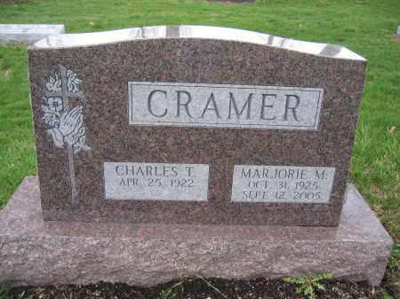 CRAMER, MARJORIE M. - Union County, Ohio   MARJORIE M. CRAMER - Ohio Gravestone Photos