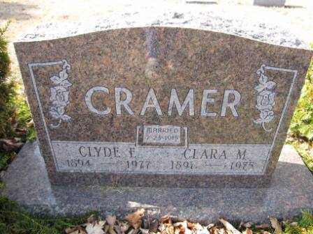 CRAMER, CLARA M. - Union County, Ohio | CLARA M. CRAMER - Ohio Gravestone Photos