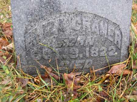 CRAMER, ELIZA - Union County, Ohio | ELIZA CRAMER - Ohio Gravestone Photos