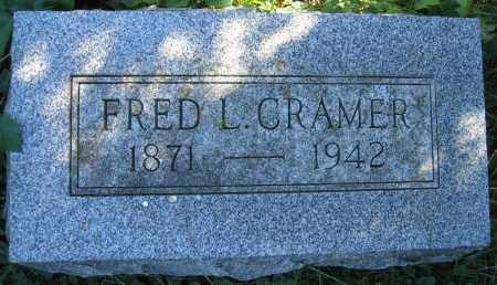 CRAMER, FRED L. - Union County, Ohio   FRED L. CRAMER - Ohio Gravestone Photos