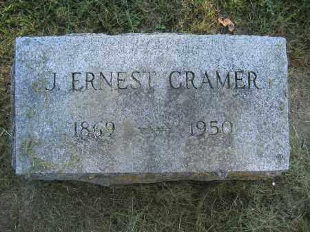 CRAMER, J. ERNEST - Union County, Ohio | J. ERNEST CRAMER - Ohio Gravestone Photos