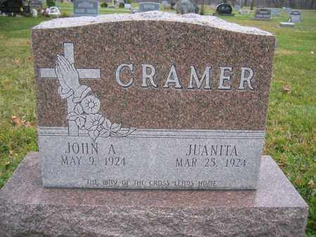 CRAMER, JOHN A. - Union County, Ohio | JOHN A. CRAMER - Ohio Gravestone Photos