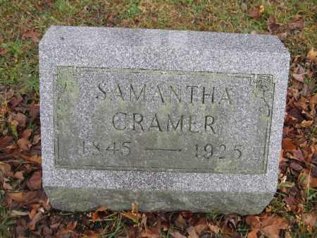 CRAMER, SAMATHA - Union County, Ohio | SAMATHA CRAMER - Ohio Gravestone Photos