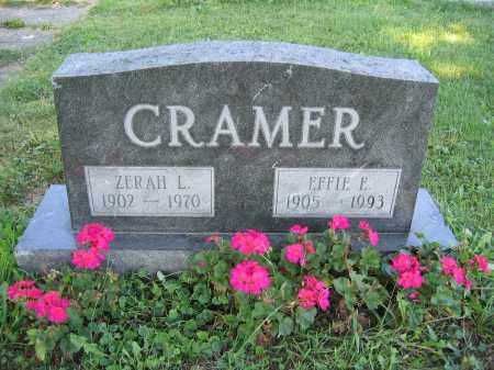 CRAMER, ZERAH L. - Union County, Ohio | ZERAH L. CRAMER - Ohio Gravestone Photos