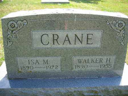 CRANE, ISA M. - Union County, Ohio | ISA M. CRANE - Ohio Gravestone Photos