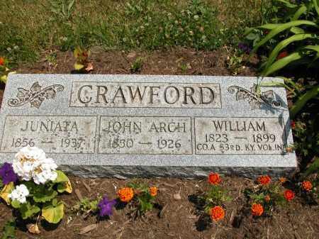 CRAWFORD, WILLIAM - Union County, Ohio   WILLIAM CRAWFORD - Ohio Gravestone Photos