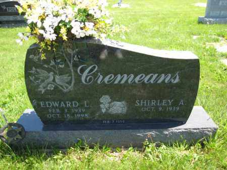 CREMEANS, EDWARD L. - Union County, Ohio | EDWARD L. CREMEANS - Ohio Gravestone Photos