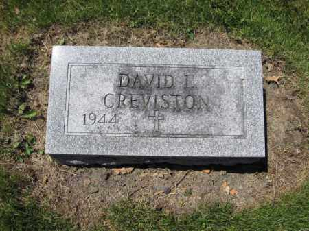 CREVISTON, DAVID L. - Union County, Ohio | DAVID L. CREVISTON - Ohio Gravestone Photos